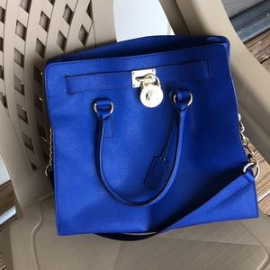 Michael Kors Large Hamilton in Royal Blue